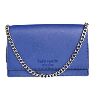 Kate Spade New York Blue Crossbody Convertible Bag
